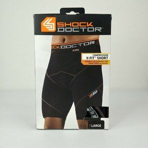 Shock Doctor X Fit Cross  Men's Compression Shorts